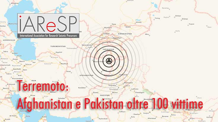Terremoto Mw 7.5 Afghanistan e Pakistan. Profondo ma con un grande cono di risentimento in superficie