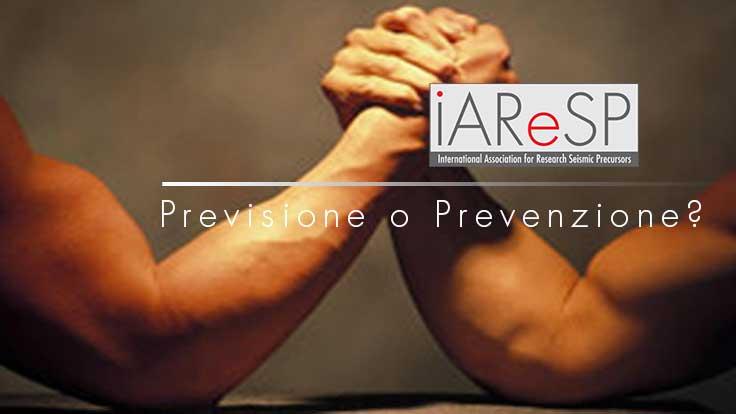 Previsione e prevenzione: una esclude l'altra?