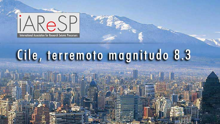 Cile, violentissimo terremoto Mw 8.3 e allerta Tsunami