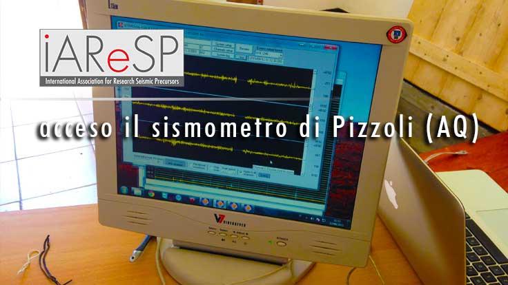 Attivato il Sismometro nella stazione sismica di Pizzoli (AQ)